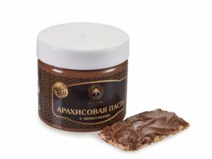 Паста арахисовая с шоколадом