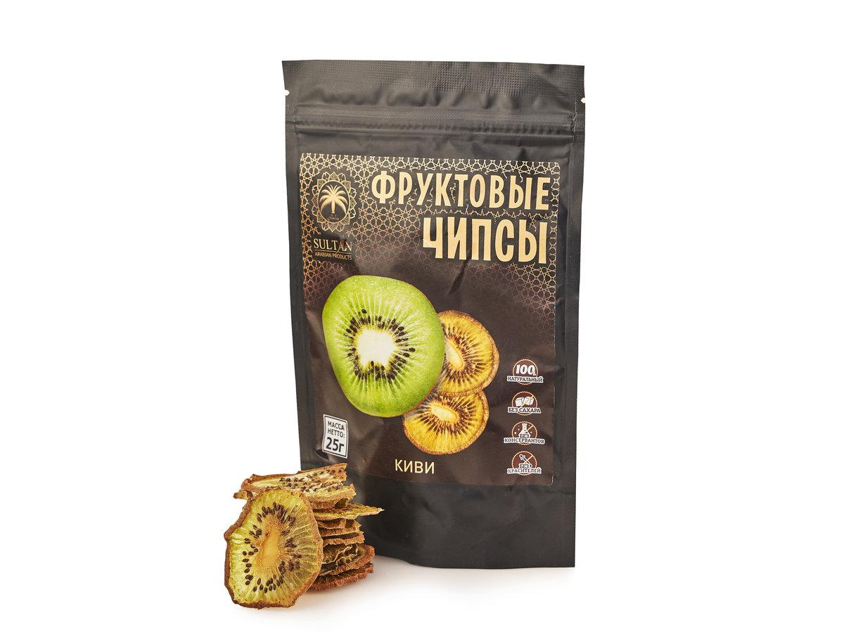 Фруктовые чипсы — Киви