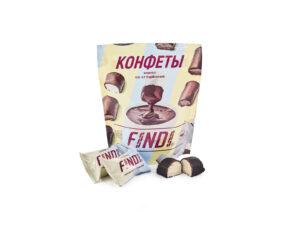 Конфеты FINDI кокос с варёной сгущенкой в шоколадной глазури